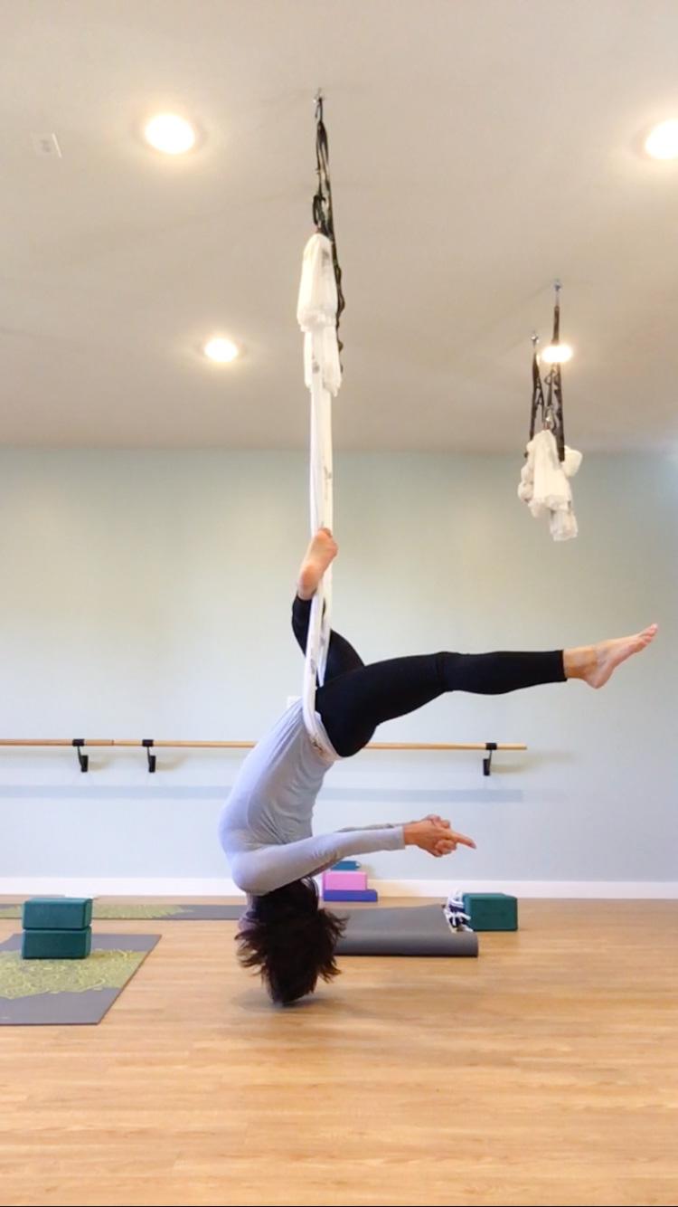 Aerial Yoga With Kaylie Kim